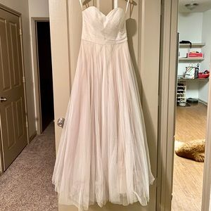 Calla BHLDN waters bride wedding dress